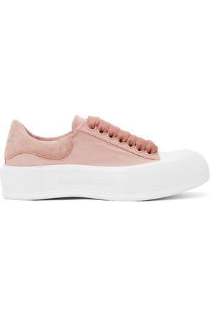 Alexander McQueen Women Sneakers - Deck Plimsoll Sneakers