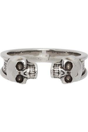 Alexander McQueen Twin Skulls Ring