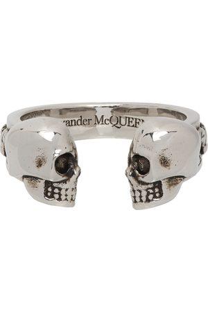 Alexander McQueen Twin Skulls and Serpent Ring