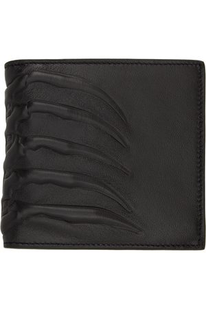Alexander McQueen Leather Rib Cage Wallet