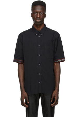 Alexander McQueen And Poplin Logo Short Sleeve Shirt