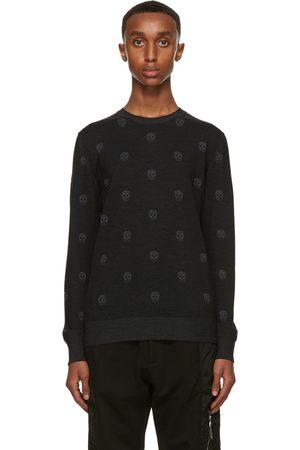 Alexander McQueen Wool Skull Sweater
