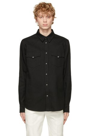 Alexander McQueen Selvedge Denim Tape Shirt