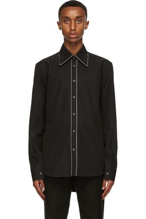 Alexander McQueen 70s Collar Contrast Piping Shirt