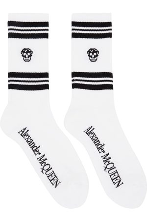 Alexander McQueen And Stripe Skull Sport Socks