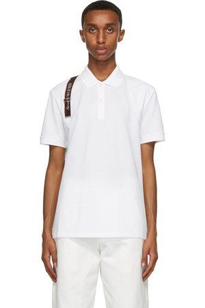 Alexander McQueen Men Polo Shirts - Logo Harness Polo