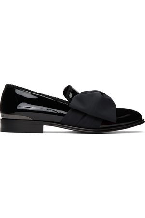 Alexander McQueen Patent Bow Loafers