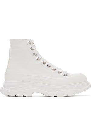 Alexander McQueen Canvas Tread Slick Boots