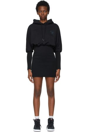 Opening Ceremony Rose Crest Hoodie Dress