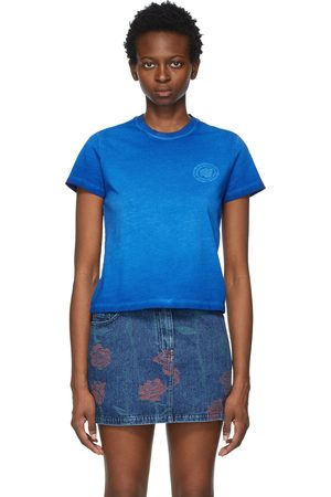 Opening Ceremony Women T-shirts - Logo Embroidered T-Shirt