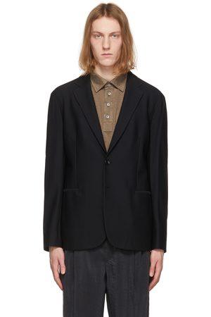 Armani Warp Knitted Blazer