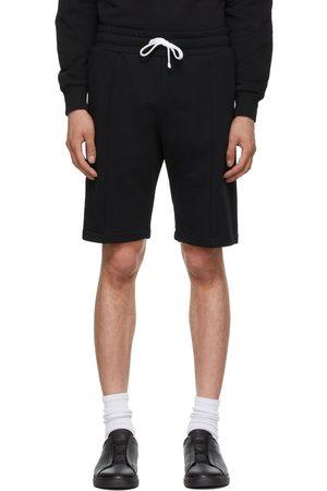 Ermenegildo Zegna Black Cotton Shorts