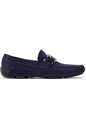 Salvatore Ferragamo Men Loafers - Suede Ornament Driver Loafers
