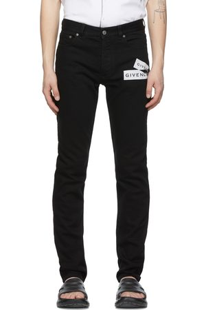 Givenchy Webbing Print Slim Fit Jeans