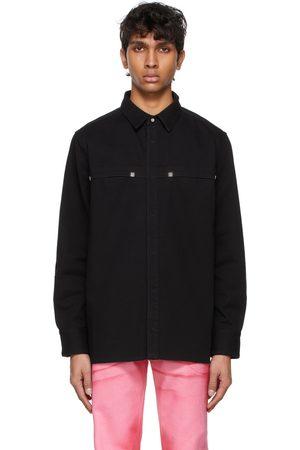 Givenchy Men Denim Jackets - Denim 4G Rivet Jacket