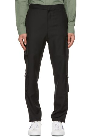 Givenchy Wool Patch Cargo Pants