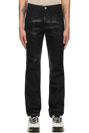 Givenchy Shiny Polished Slim-Fit Jeans