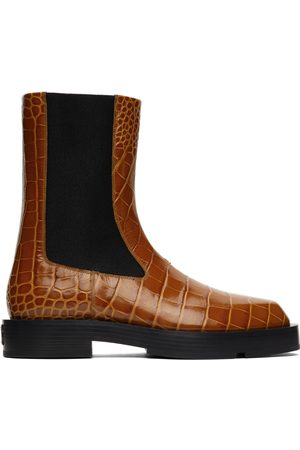Givenchy Croc Chelsea Boots
