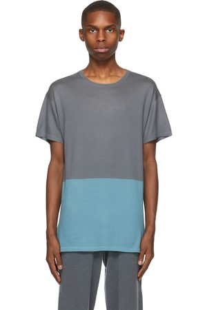 Frenckenberger SSENSE Exclusive Grey and Bicolor T-Shirt
