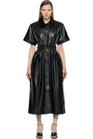 Matériel Tbilisi Button-Down Open Back Dress