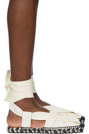 Proenza Schouler Off- Ankle Wrap Espadrilles