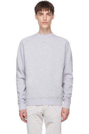 HELIOT EMIL Men Sweatshirts - Grey Logo Sweatshirt