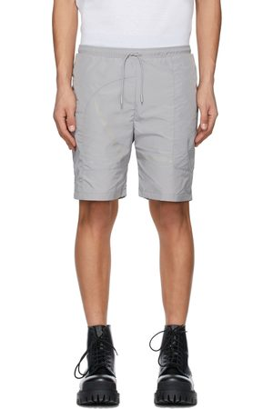 HELIOT EMIL Men Shorts - Grey Track Shorts