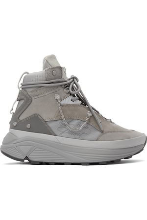 C2H4 Grey My Own Private Planet Atom Alpha High Top Sneakers