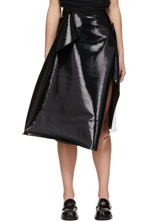 We11 Done Enamel Wrap Skirt
