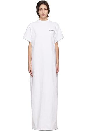 We11 Done Logo Long T-Shirt Dress