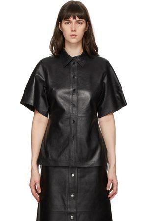 Stand Studio Leather Alivia Short Sleeve Shirt