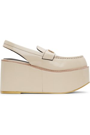 We11 Done Platform Slingback Loafers