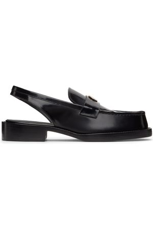 We11 Done Snake Slingback Loafers