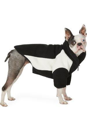 We11 Done SSENSE Exclusive Reversible and Off- Oversized Fleece Dog Jacket