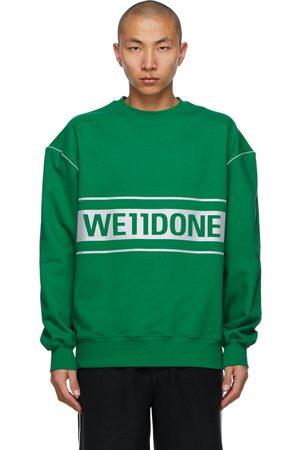 We11 Done Reflective Logo Sweatshirt