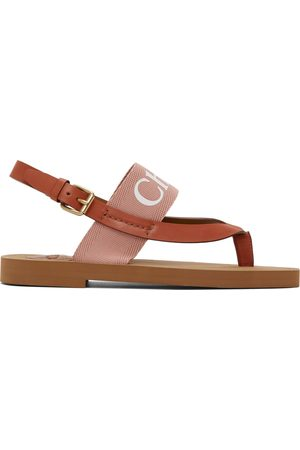 Chloé Woody Flat Sandals