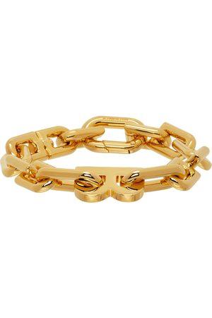 Balenciaga Thin B Chain Bracelet