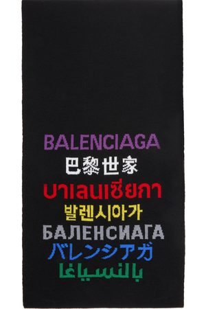 Balenciaga WoolLanguages Scarf