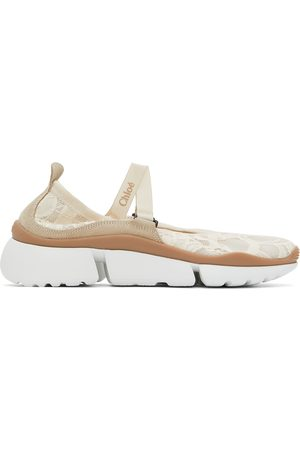 Chloé Off- Lace Sonnie Ballet Sneakers
