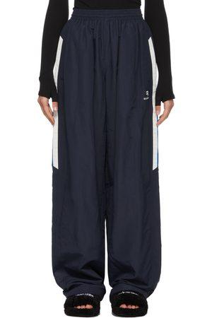 Balenciaga Women Pants - Navy One-Size Tracksuit Lounge Pants