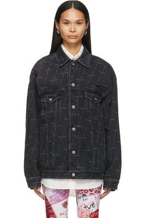 Balenciaga Denim Large Fit Jacket