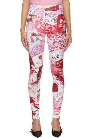 Balenciaga Be My Valentine Leggings