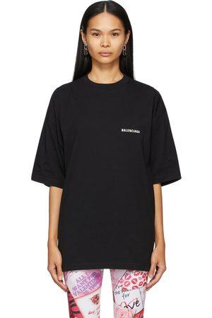 Balenciaga Women T-shirts - Oversized Defile T-Shirt