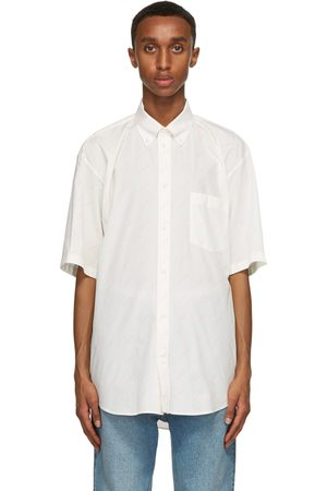 Balenciaga Logo Normal Fit Short Sleeve Shirt