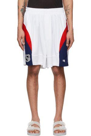 Balenciaga And Mesh Hockey Shorts