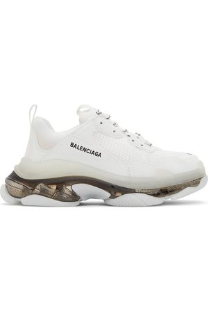 Balenciaga And Clear Sole Triple S Sneakers