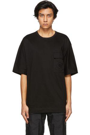 JUUN.J Embroidered Logo Pocket T-Shirt