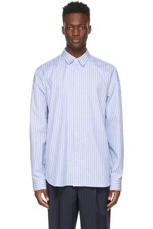 JUUN.J And Stripe Poplin Shirt