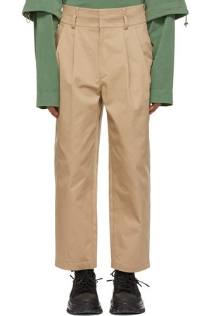 JUUN.J Two-Pleat Double Waistband Trousers