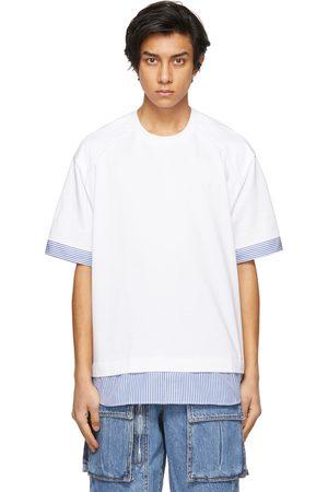 JUUN.J And Striped Layered T-Shirt